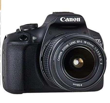 Canon EOS 2000D + EF-S 18 - 55 mm IS II Fotocamera Reflex, Sensore APS-C da 24.1 megapixel
