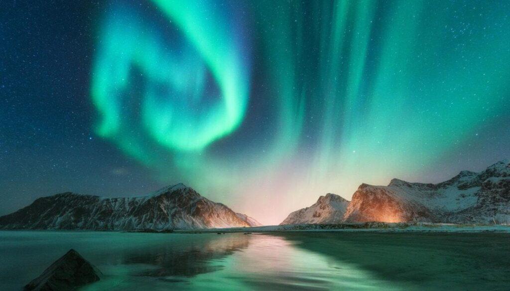 Come fotografare l'aurora boreale