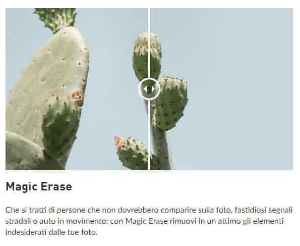 Magic erase