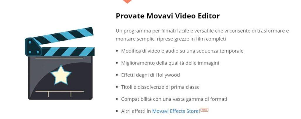 Movavi video editor gratis