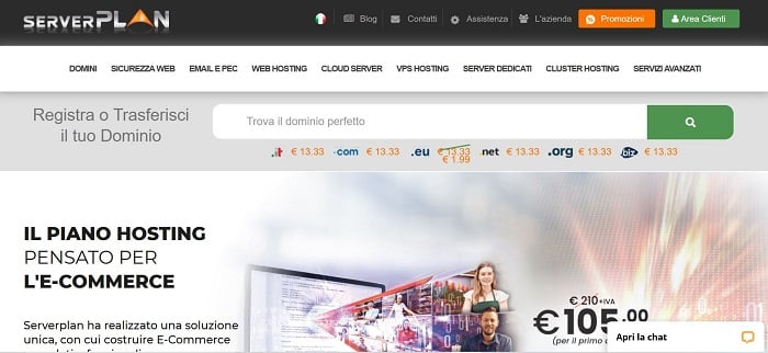 Server Plan: Miglior hosting per woocommerce