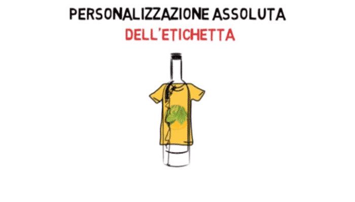 etichette di vino personalizzate