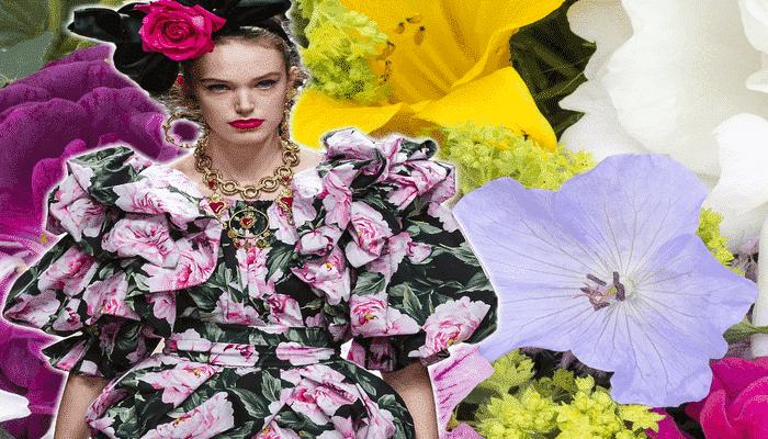 Tendenza 2021: vestiti a fiori ovunque per sbocciare con la primavera