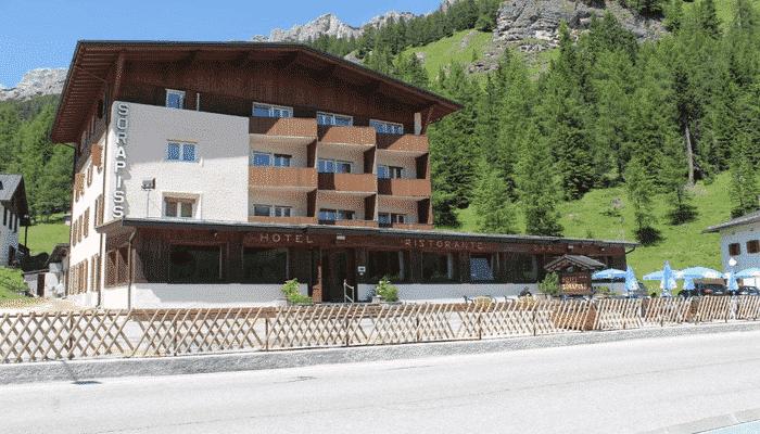 Hotel Sorapiss tre cime di Lavaredo