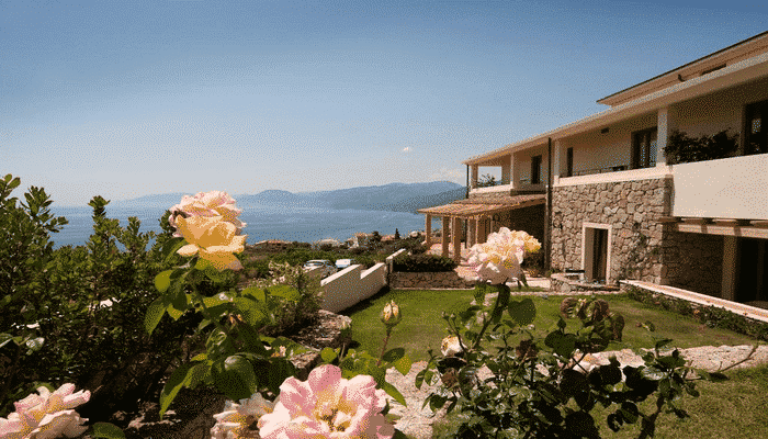 Hotel Villa Gustui Maris cala luna Sardegna