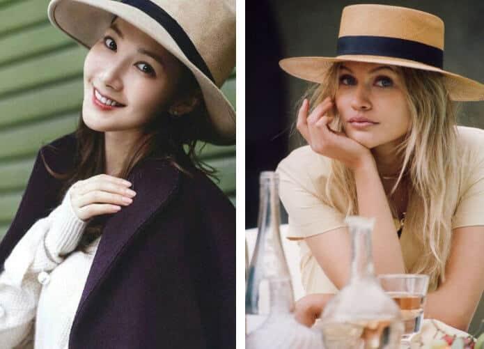 vestiti orientali cappello da donna