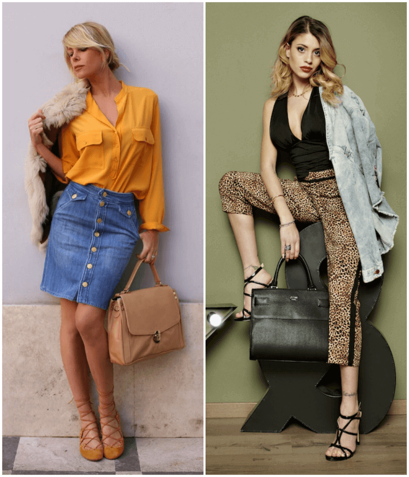 Come abbinare vestiti diversi